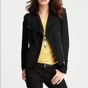 Ann Taylor wool tricotine jacket